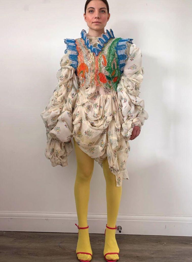 vestidos originales creacion alexandra sipa