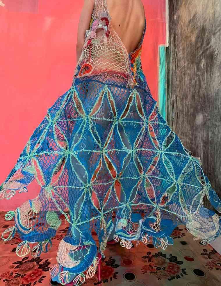 vestidos originales joven diseñadora