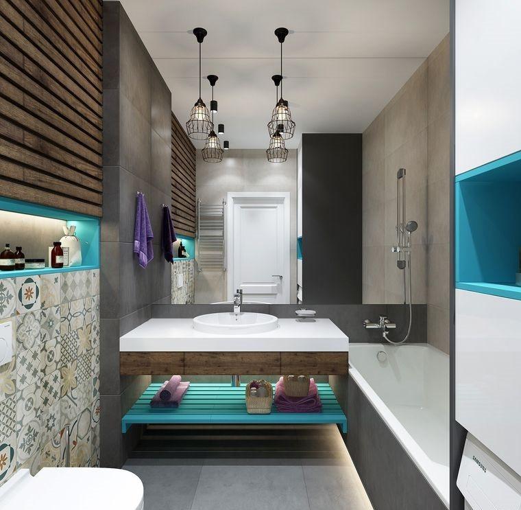 baños modernos almacenamiento