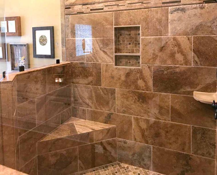 baños modernos azulejos patrones