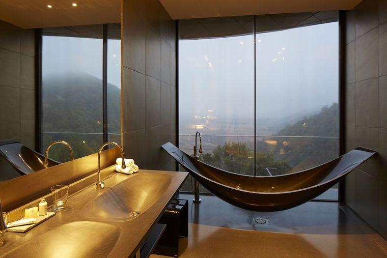 baños modernos bañera grande