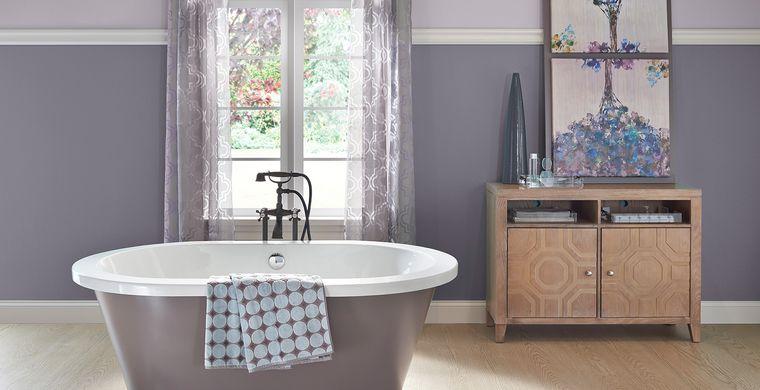 baños modernos colores