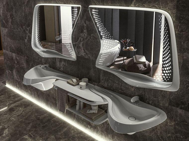 baños modernos del futuro
