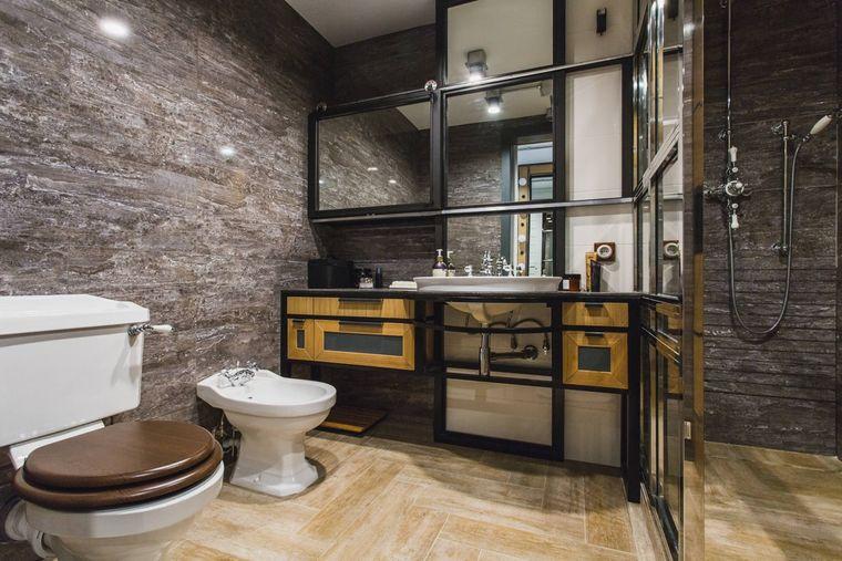 baños modernos industrial