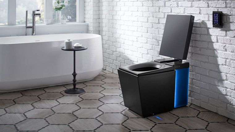 baños modernos inodoro