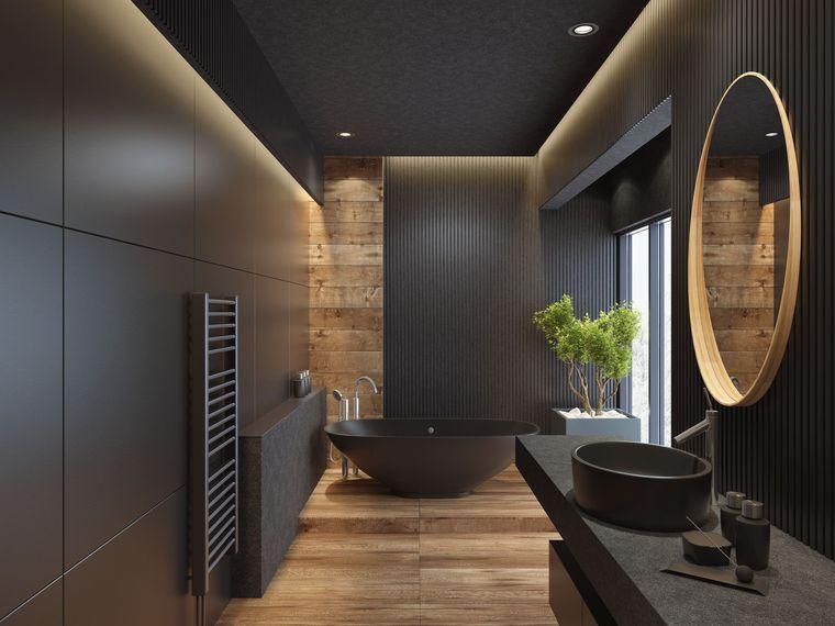baños modernos minimalista