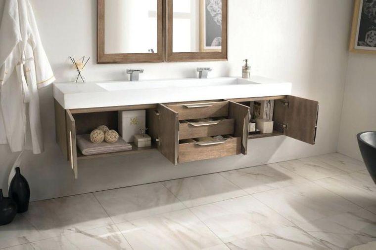 baños modernos tocador flotante