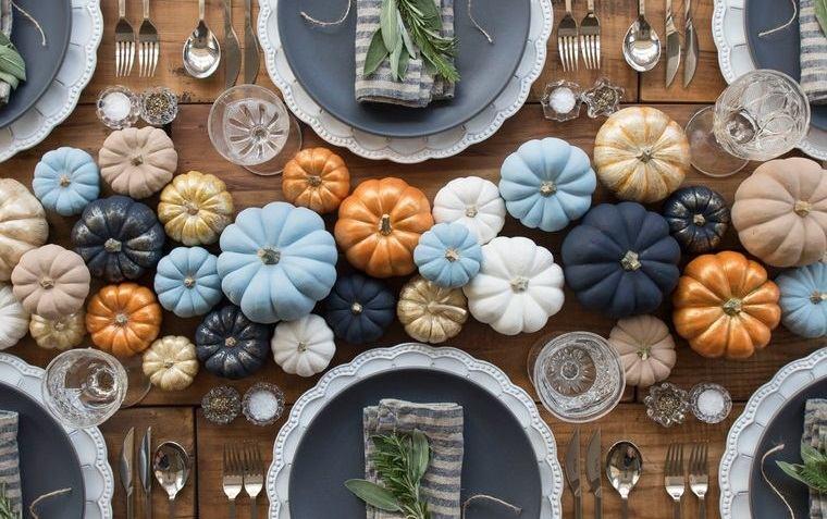 calabazas decorativas otoño