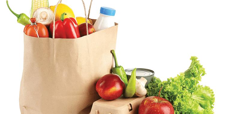 combinación de alimentos compra