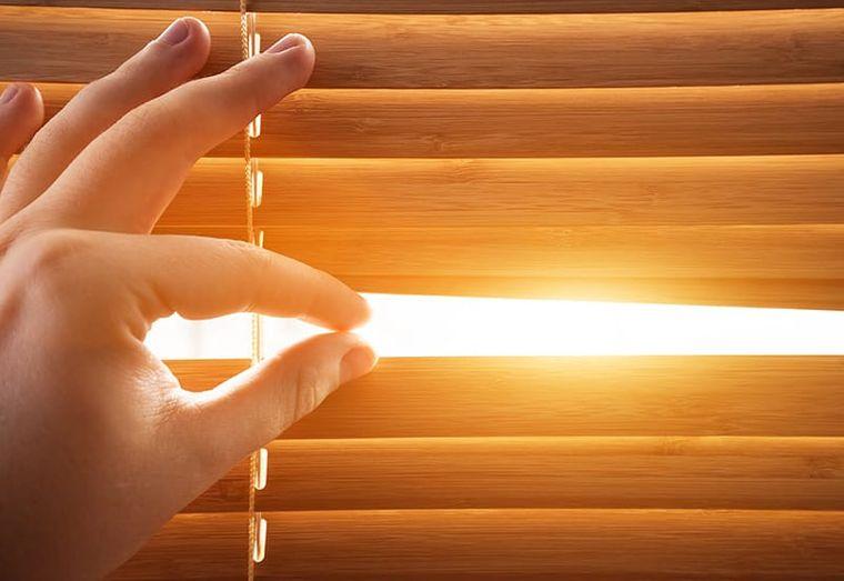 cómo combatir el calor persianas