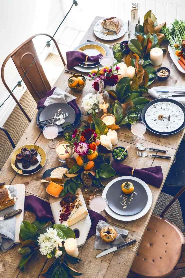 decoración elementos otoño