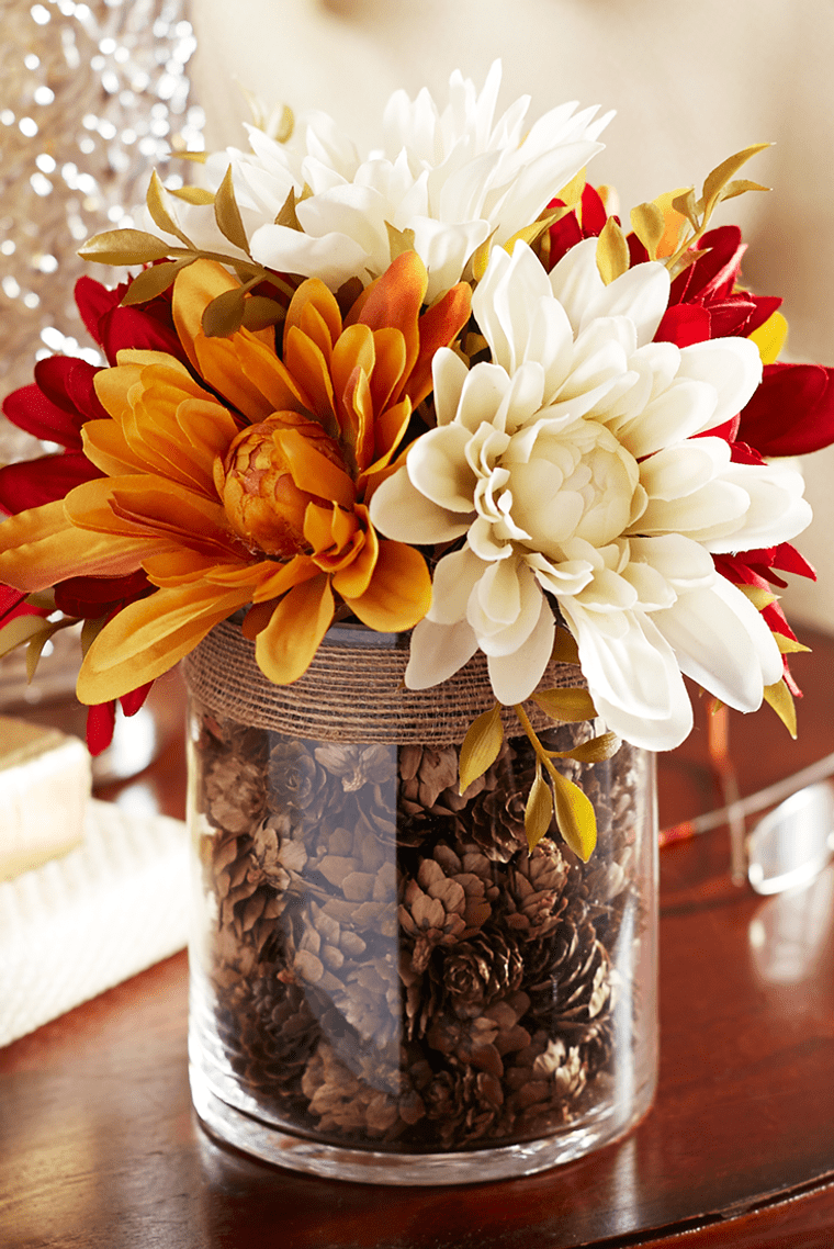 decoración florero