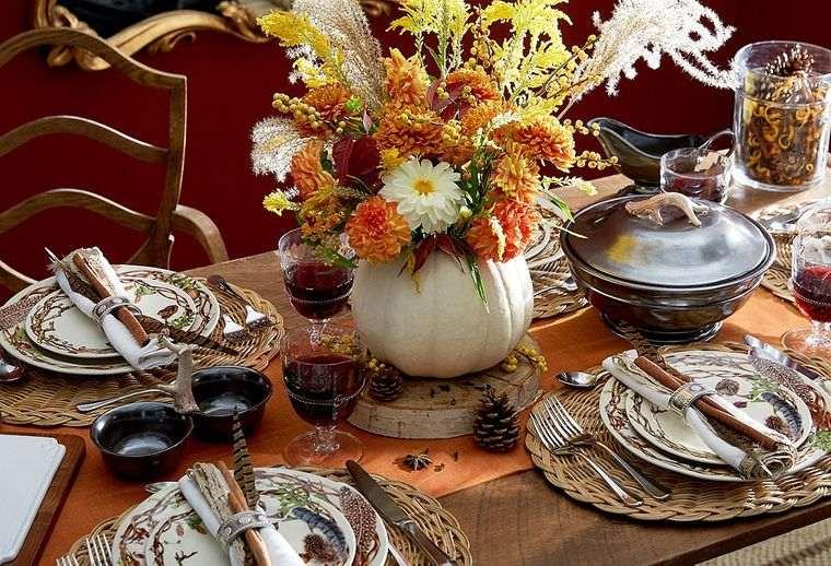 decoración ideas otoño
