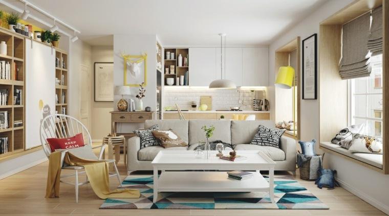 decoracion-nordica-sala-estar