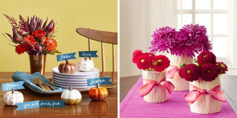 decoración para otoño
