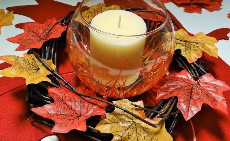 decoración temporada otoño