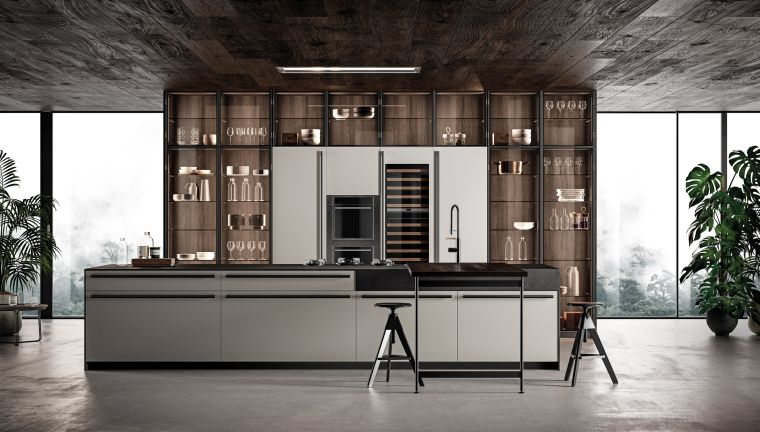 diseños para cocinas-cocina-espacios-amplios