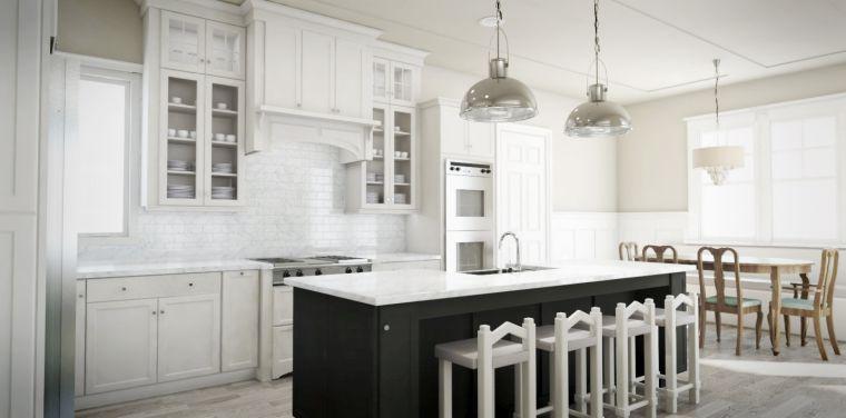 diseños para cocinas-blanco-negro