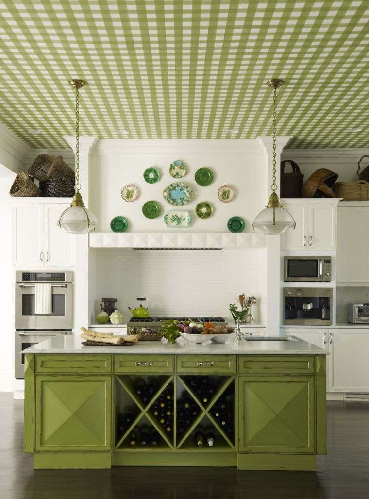disenos-para-cocinas-ideas-color-verde