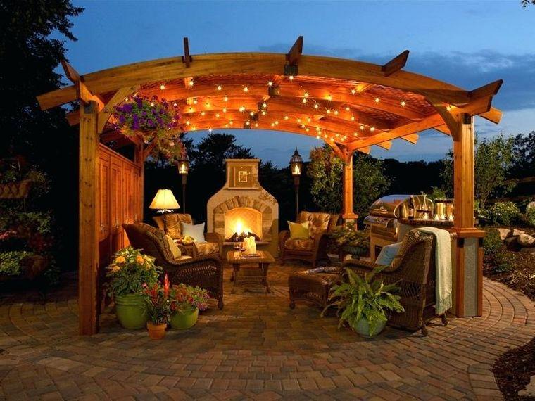 elementos arquitectónicos ideas jardin