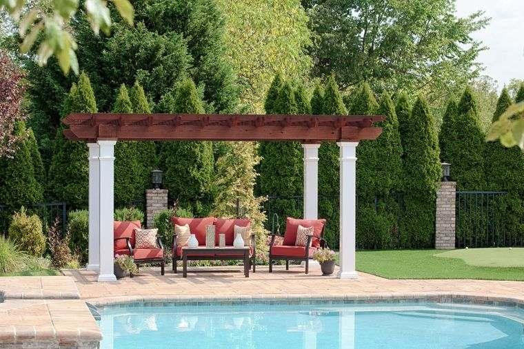 Elementos arquitectónicos de jardín para embellecer tu espacio al aire libre