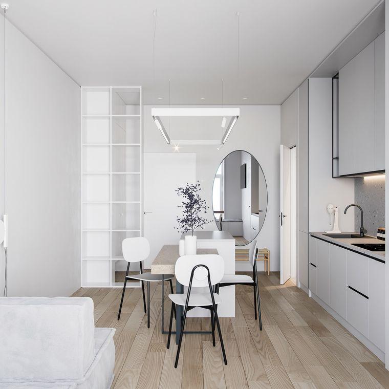 espacios-pequenos-muebles-blancos
