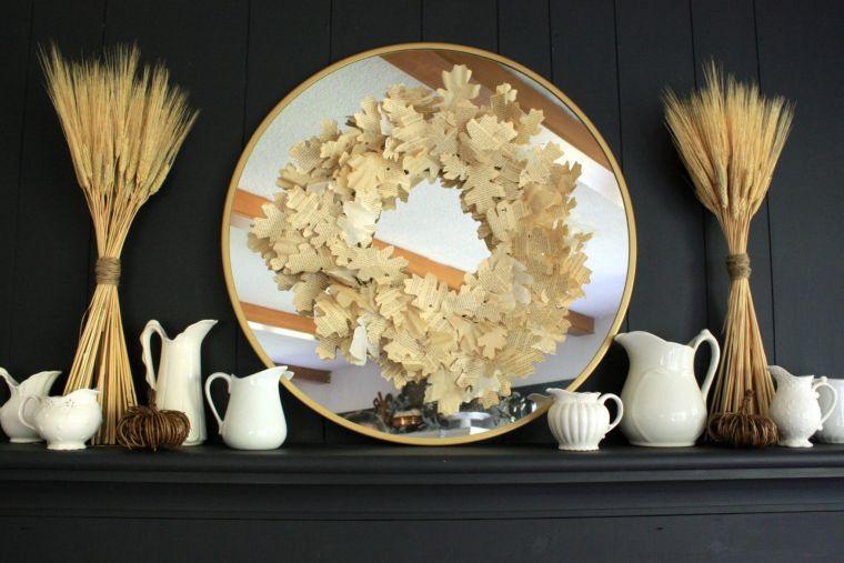 espigas de trigo sencillo elegante