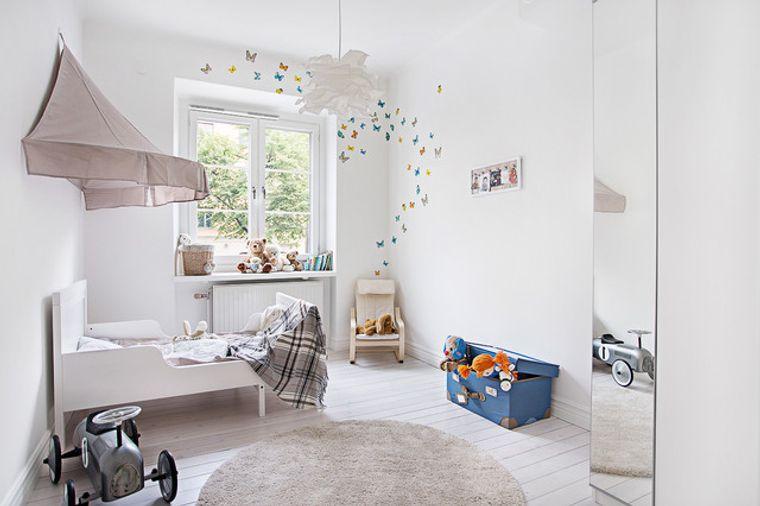 habitaciones infantiles blanco