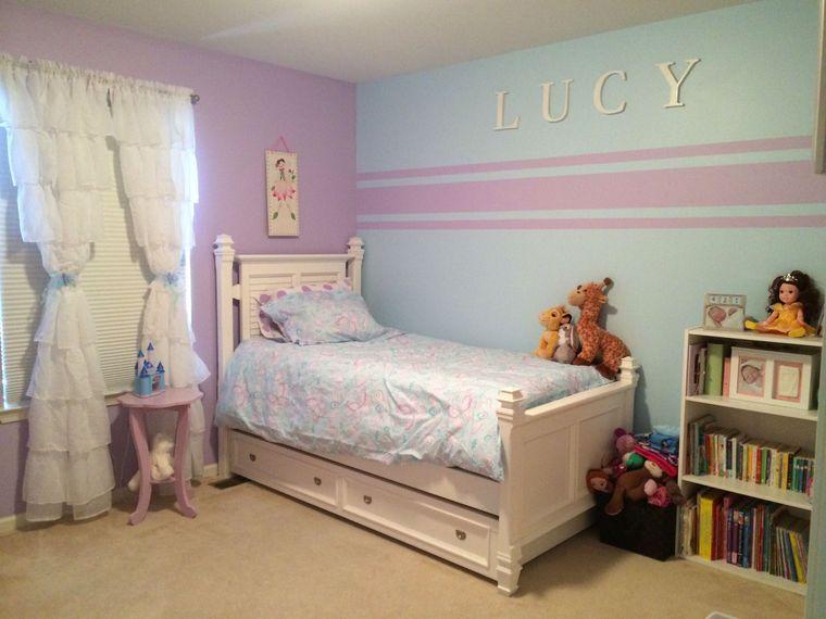habitaciones infantiles colores pasteles