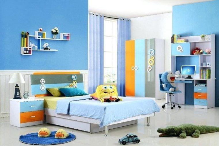 habitaciones infantiles colores