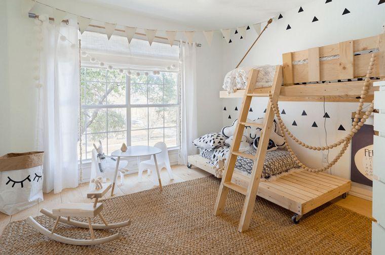 habitaciones infantiles con alfombras
