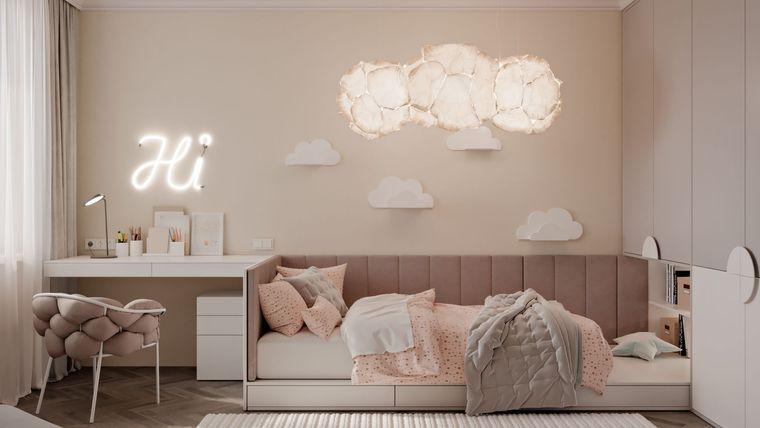habitaciones infantiles iluminacion