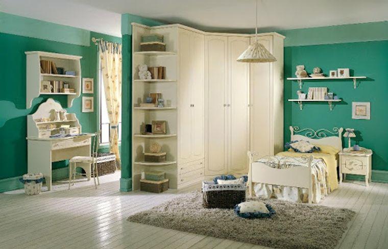 habitaciones infantiles muebles pequeños