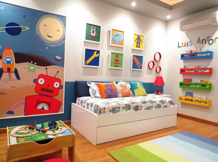 habitaciones infantiles paredes adornos