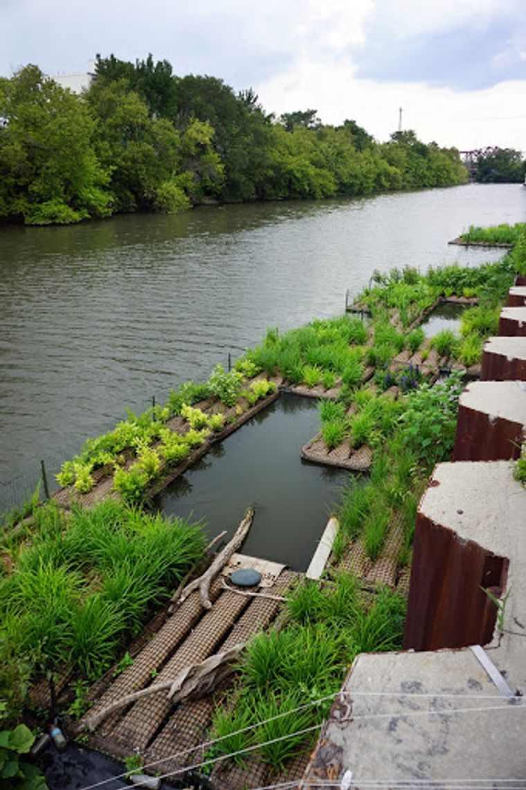 los jardines flotantes en rio