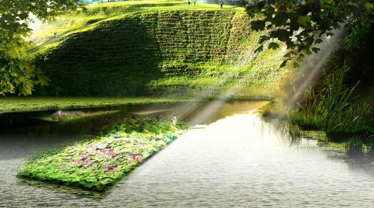 los jardines flotantes ideas