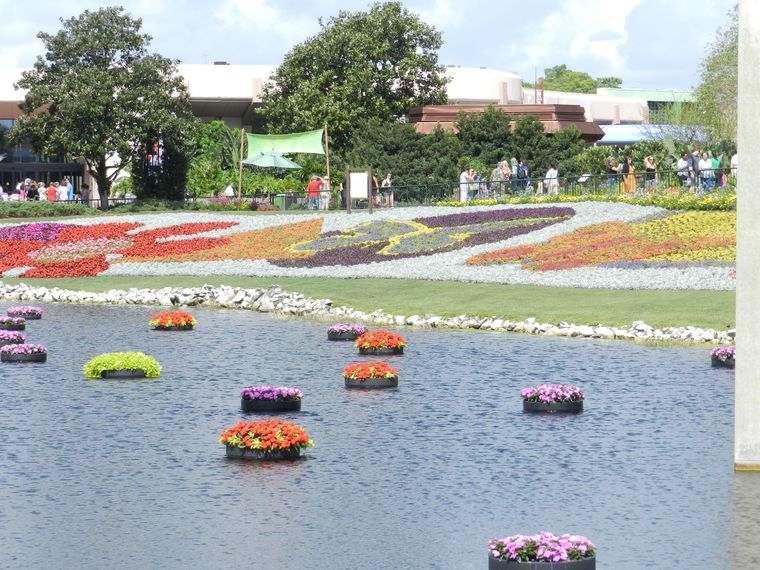 los jardines flotantes natural