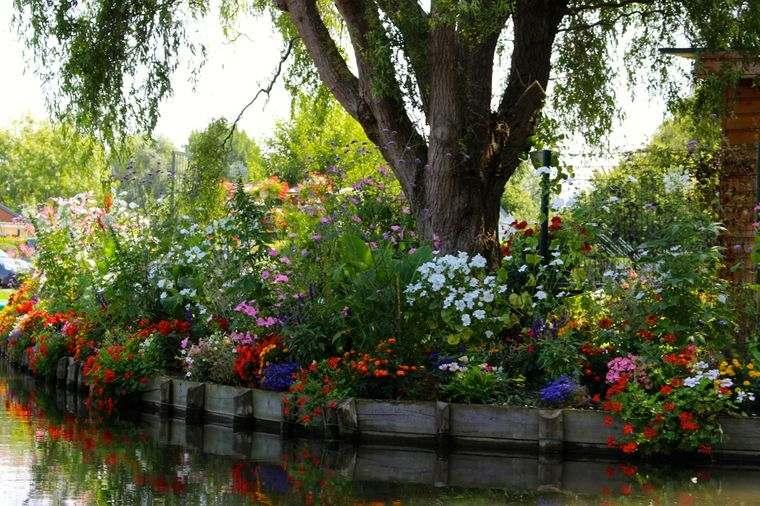 los jardines flotantes naturales