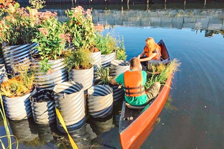 los jardines flotantes sistema innovador