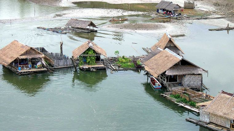 los jardines flotantes viviendas