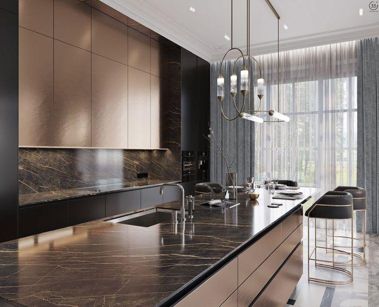 marmol-negro-cocina-ideas