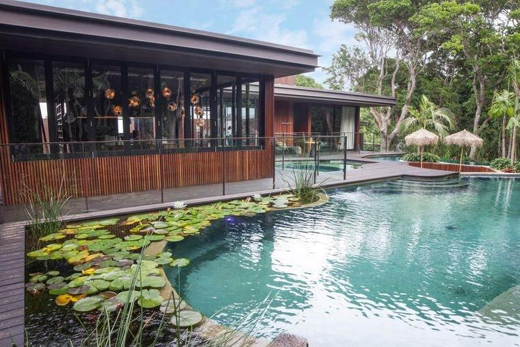piscina natural casa