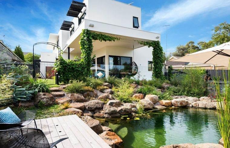 piscina natural decoracion