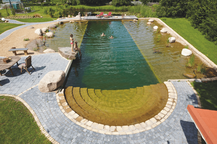 piscina natural diseño original