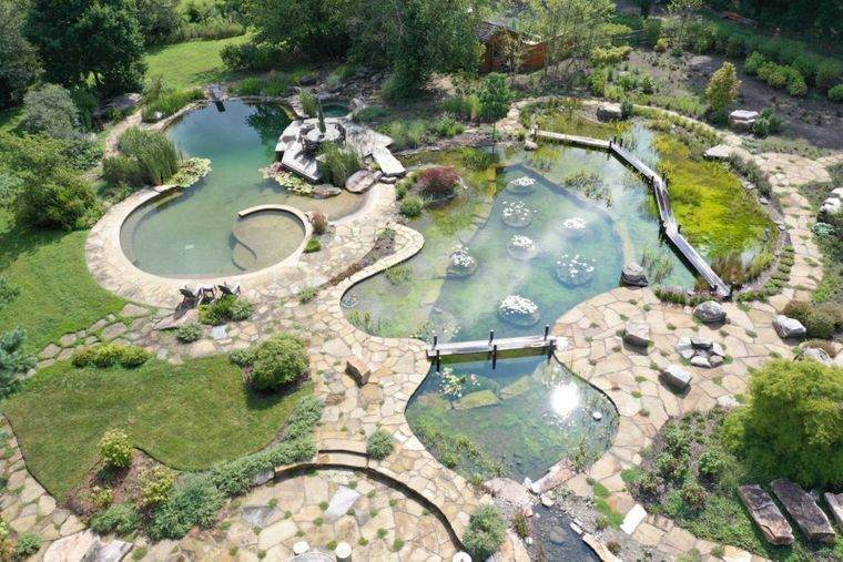 piscina natural grande