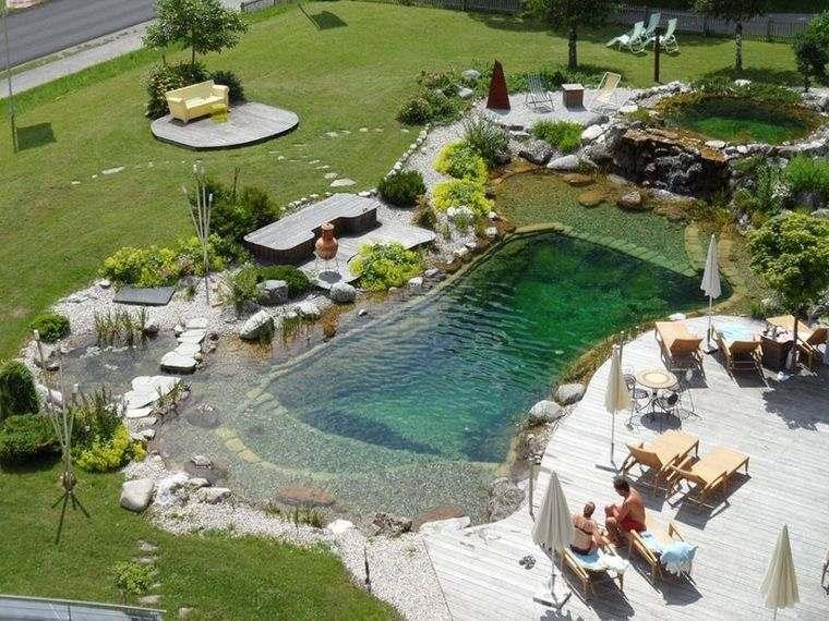 piscina natural paisajismo