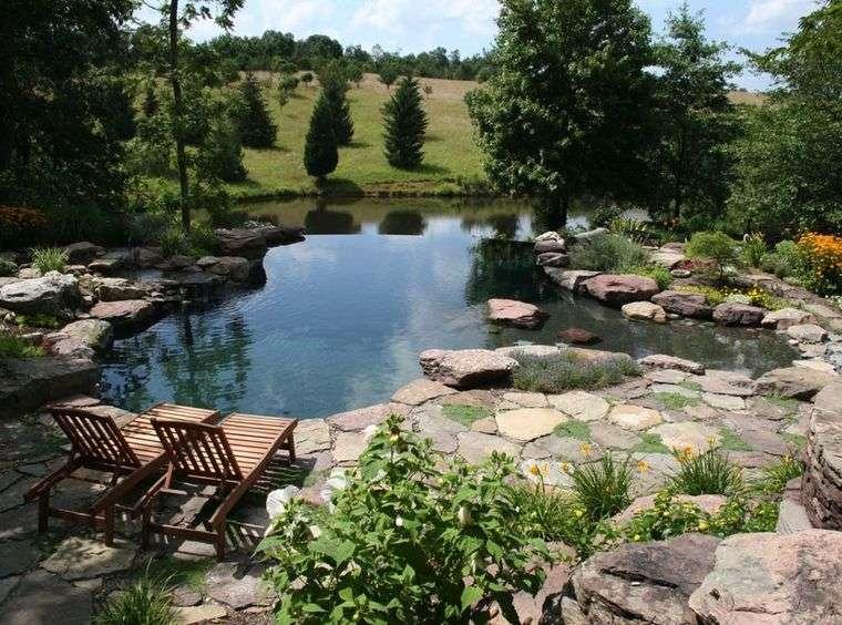 piscina natural piedra
