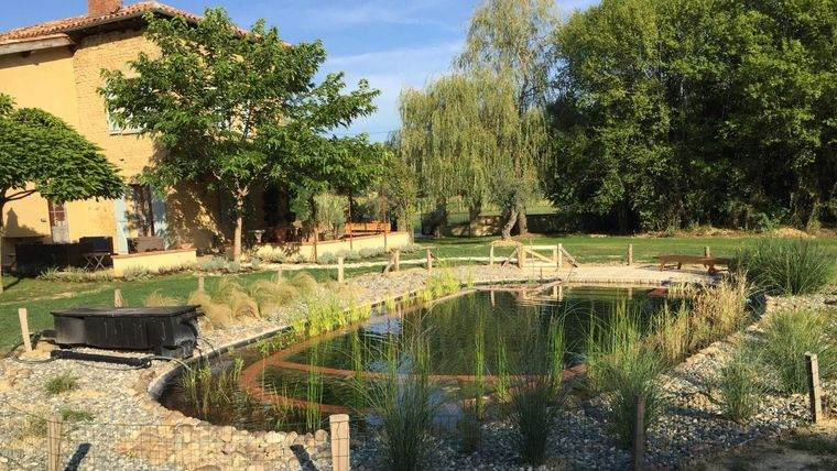 piscina natural rustica
