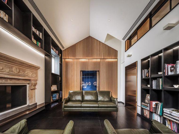 proyecto casa escondida sala estar