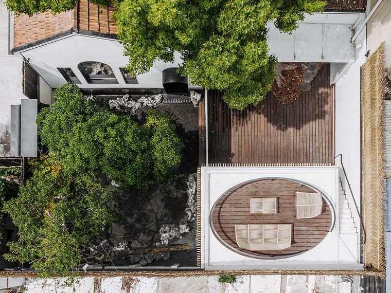 proyecto casa vista aerea